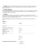 RESIDENTIAL HOUSE LEASE AGREEMENT page 2 preview