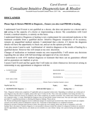 Medical Application form page 1 preview