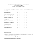 Sample Training Evaluation Form page 2 preview