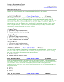 Project Meeting Agenda Template page 2 preview