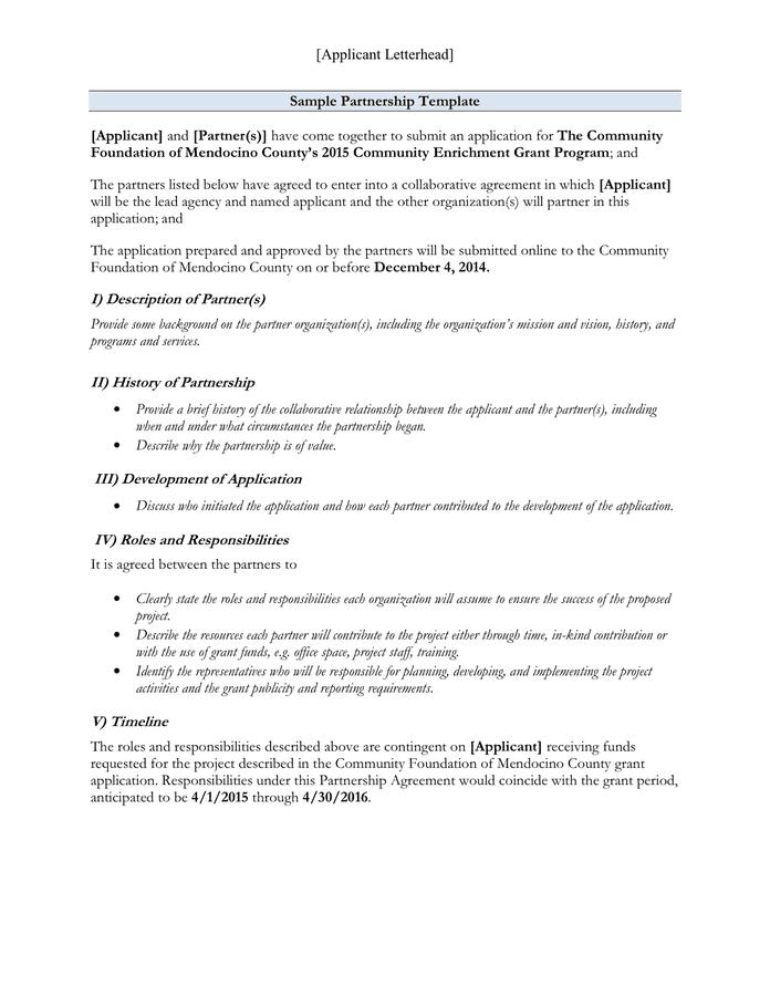 Sample letter of understanding agreement letter idea 2018 memorandum of understanding templates 28 images pronofoot35fo Gallery