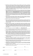 REAL ESTATE PURCHASE and SALES CONTRACT page 2 preview