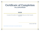 Certificate of Completion page 1 preview
