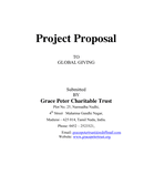 Project Proposal Sample page 1 preview