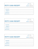 petty cash receipt page 1 preview