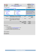 INVOICE form page 1 preview