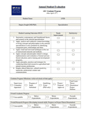 Student evaluation form page 1 preview