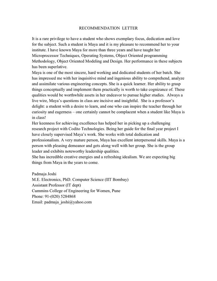 Letter Of Recommendation Template Word from static.dexform.com