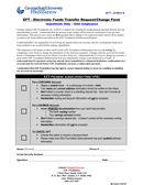 DIRECT DEPOSIT INSTRUCTION FORM page 1 preview