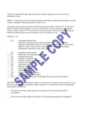 STATUTORY SHORT FORM POWER OF ATTORNEY page 2 preview