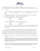 Sample lease form page 1 preview