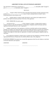 ASSIGNMENT OF REAL ESTATE PURCHASE AGREEMENT page 2 preview