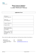 Membership Application Form page 1 preview