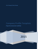 Company Profile Template page 1 preview