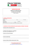 COMPANY PROFILE FORM page 1 preview