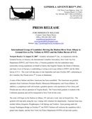 PRESS RELEASE sample page 1 preview