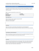 Social Media Strategy Worksheet page 1 preview