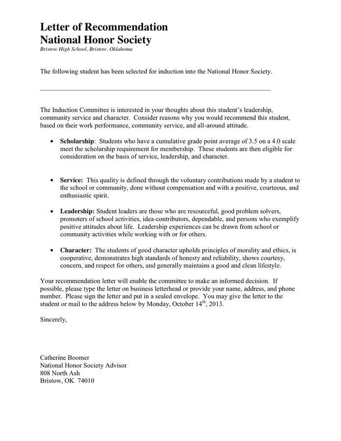 Leadership Letter Of Recommendation from static.dexform.com