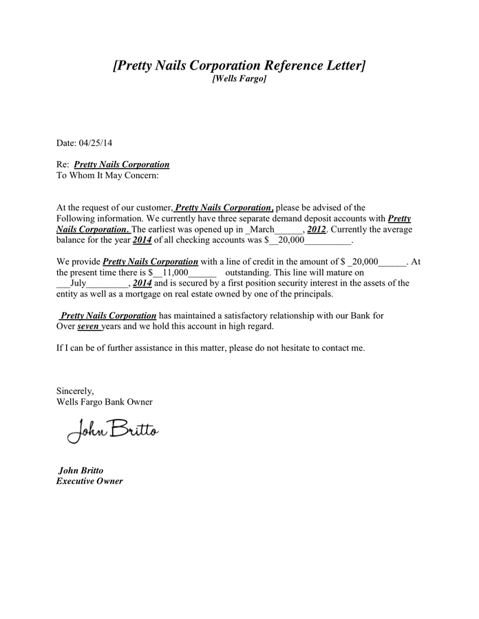 Bank Reference Letter Template from static.dexform.com
