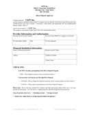 DIRECT DEPOSIT AUTHORIZATION FORM page 1 preview