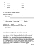 Medical Release Form page 2 preview