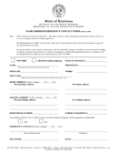 NAME/ADDRESS/EMERGENCY CONTACT FORM page 1 preview