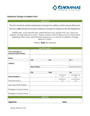 Direct Deposit Agreement Form page 1 preview