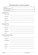 Membership Application Form page 2 preview