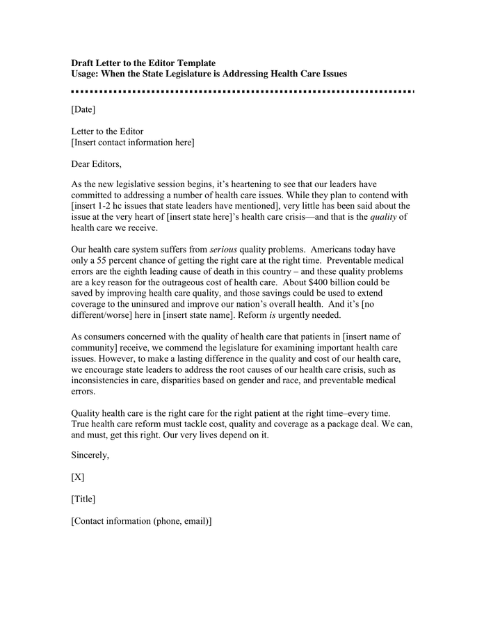 letter to the editor template 28 images letter to editor