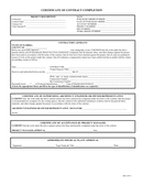 Certificate of contract completion template page 1 preview