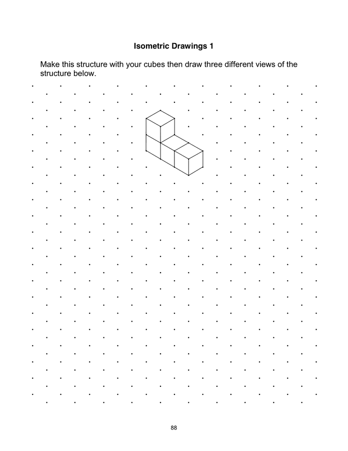 Isometric Dot Paper preview