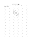 Isometric Dot Paper page 1 preview