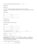 Articles of incorporation template page 2 preview