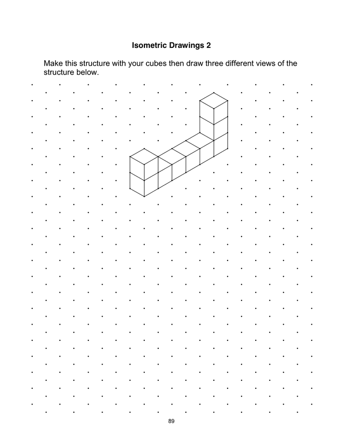 Isometric Dot Paper page 1