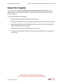 Contract amendment and change order approval template page 2 preview