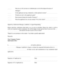 Landlord verification form page 2 preview