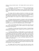 Consulting agreement template page 2 preview