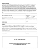 Sample ach authorization form page 1 preview