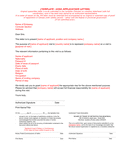 Visa application letter template (Canada) page 1 preview