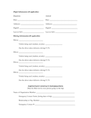University emergency contact form page 2 preview