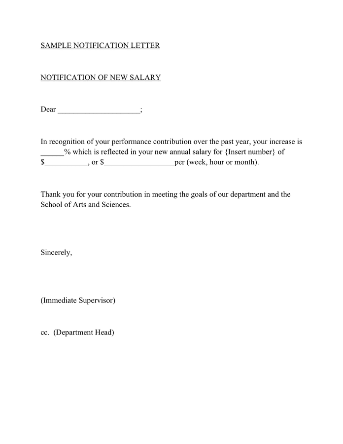 Sample Salary Increase Letter from static.dexform.com