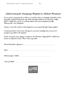 Emergency contact / parental consent form page 2 preview