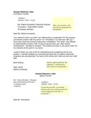 Sample withdraw and rejection letter page 1 preview