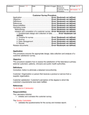 Customer Survey Procedure Template page 2 preview