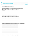 Car service customer satisfaction survey page 2 preview