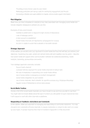 Social media strategy template page 2 preview