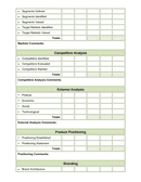 Marketing audit template page 2 preview