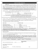 Child support affidavit template page 1 preview