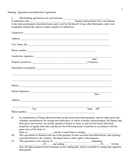 Hunting agreement and indemnity agreement template page 1 preview