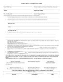 Sample HIPAA Authorization Form page 1 preview